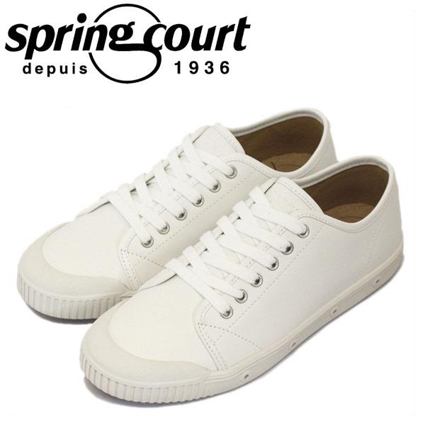 正規取扱店 spring court (スプリングコート) G2S-V5 G2 Leather (G2レザー) レディース ローカットスニーカー WHITE (ホワイト) SPC026