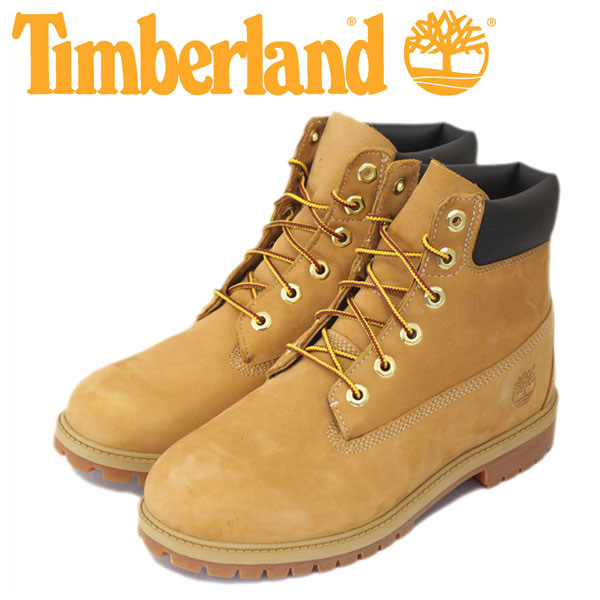 正規取扱店 Timberland (ティンバーランド) 12909 6in Premium Boot (シックスインチ プレミアム ウォータープルーフブーツ) レディース/キッズ ウィートヌバック TB015