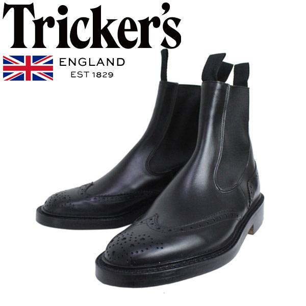 正規取扱店 Tricker's トリッカーズ 2754M COUNTRY HENRY(カントリーヘンリー) ダブルレザーソール ブラックボックスカーフ TK004