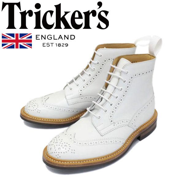 正規取扱店 Tricker's トリッカーズ 2508M COUNTRY BROGUE(カントリーブローグ) ダイナイトソール ホワイトアニリンカーフ TK031