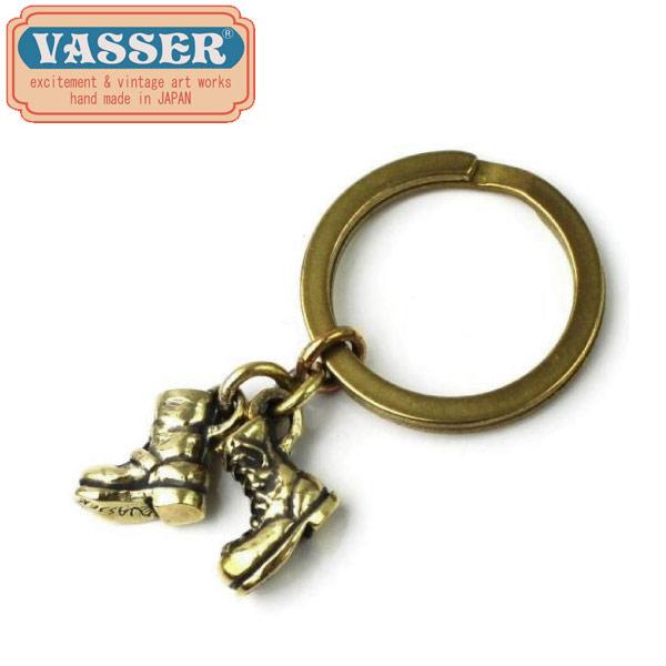 正規取扱店 VASSER(バッサー) Biker Boot Cracker Key Chain Brass(バイカーブーツクラッカーキーチェーンブラス)
