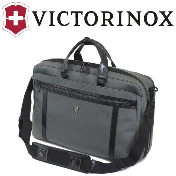 正規取扱店 VICTORINOX (ビクトリノックス) 604686 Werks Professional Engineer 2way Carry 15 ラップトップブリーフ/バックパックウィズタブレットポケット GRAY VX035