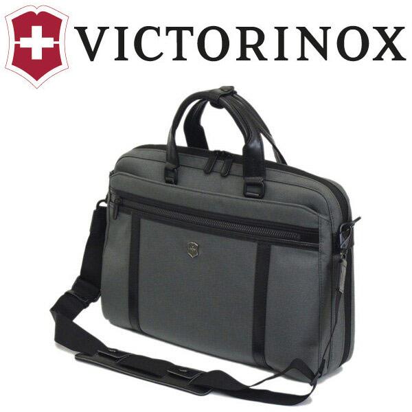 正規取扱店 VICTORINOX (ビクトリノックス) 604688 Werks Professional Technician 13 Expandable ラップトップブリーフ/バックパックウィズタブレットポケット GRAY VX036