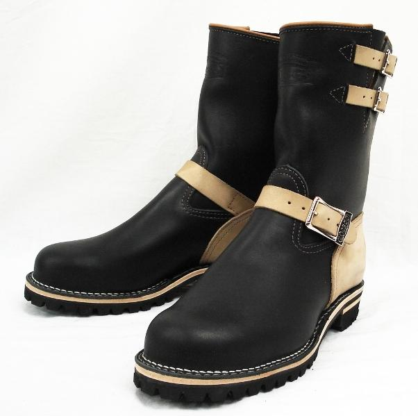 正規取扱店 正規ディーラーWescoウエスコ Boss ボス Black,10height,#100 sole,Lower Heel, Wescoバックル,2トーン,Steel Toe,Lining BS34