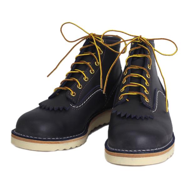正規取扱店 Wescoウエスコ Jobmasterジョブマスター Navyネイビー Leather, Semi Lace to Toe, 6height,#1010sole JM44