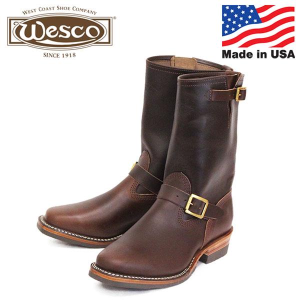 正規取扱店 限定 WESCO (ウエスコ) STOCK MISTER LOU 7600 ホースハイド エンジニアブーツ Brown Horsehide ML02