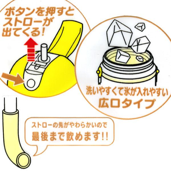有面包超人吸管的水壶(保冷型)873032