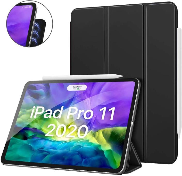 磁気吸付仕様 2020 新型 iPad Pro 11 12.9 ケース 保護カバー 第2世代 新作送料無料 第4世代 New アイパッドプロー11 オートスリープ機能 アイパッドプロー12.9 4年保証 ATiC 2020スタンドケース スタンドケース Apple タブレットカバー 超薄型 オートスリープ機能付き