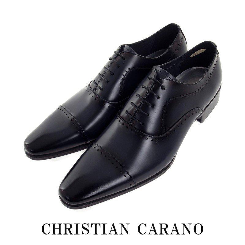 日本製 本革 内羽根 ストレートチップ 3E 撥水 Christian Carano クリスチャンカラノ 911 ドレス&ビジネスシューズ 送料無料
