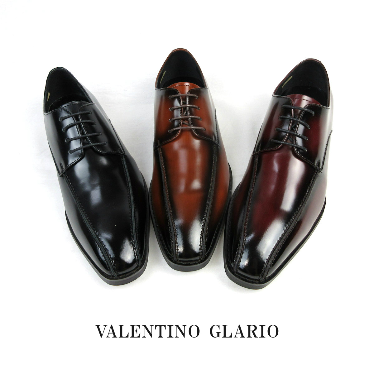 日本製 本革 Valentino Glario バレンチノグラリオ 4880 メンズ ドレス&ビジネスシューズ スワールトゥ 外羽根 3E 撥水 メンズスタイリッシュ 24.0~28.0cm sale セール