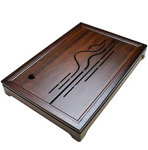 観山月茶盤(貯水排水両用)