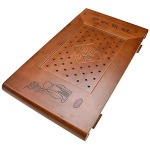 福気満堂竹茶盤(貯水排水両用)