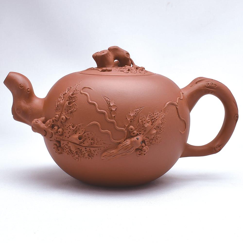 宜興紫砂壺 松鼠葡萄(王兆春)510ml