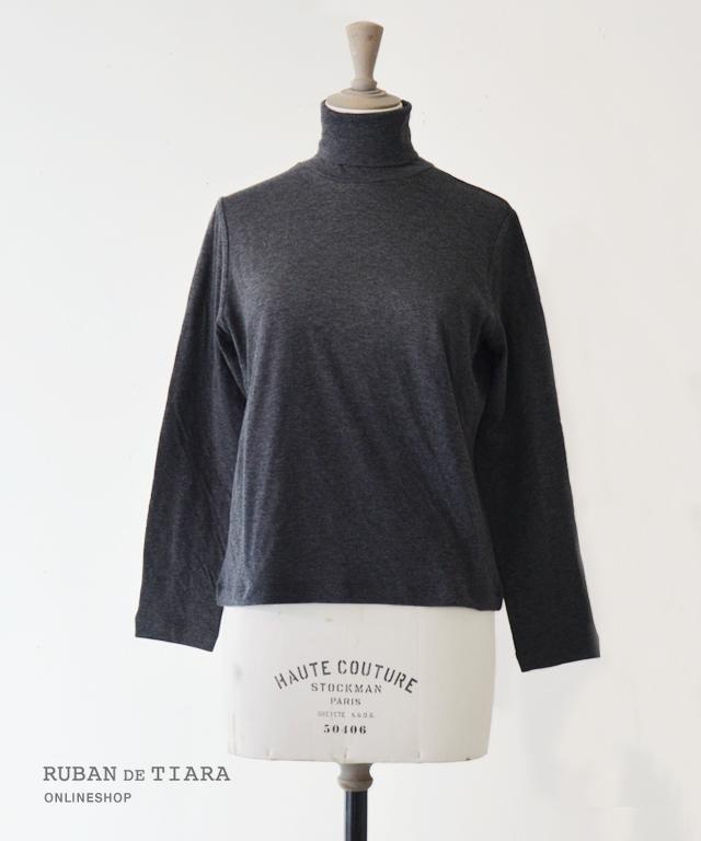 【MB】Dual layered cotton Turtle neck プルオーバー