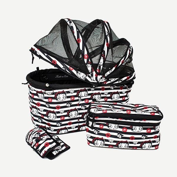 *こちらの商品は、バッグのみの販売となります。カート本体は含まれておりません。 天使のカート Betty Boop Pudgy(専用ドームカバー付)(バッグのみ) Sサイズ【犬用品 ペット キャリーバッグ ペットカート ペットバギー】 送料無料
