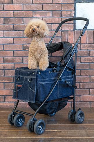 Mother Cart(マザーカート)×Glamourism(グラマーイズム) アジリティー SAKURA【小型犬 キャリーバッグ/ キャリーカート/ ペットカート/ ペットバギー/犬用品/ 送料無料】