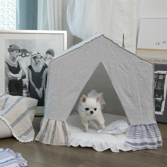 ルイスドッグ louisdog BOHO Peekaboo/Foggy Dew(Grand)【小型犬 ベッド ソファ カドラー セレブ】