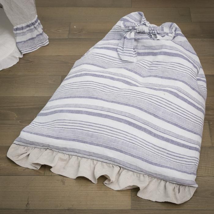 ルイスドッグ louisdog My Lounge Sofa/Blue Stripes【小型犬 ベッド ベッド ソファ カドラー クッション セレブ】