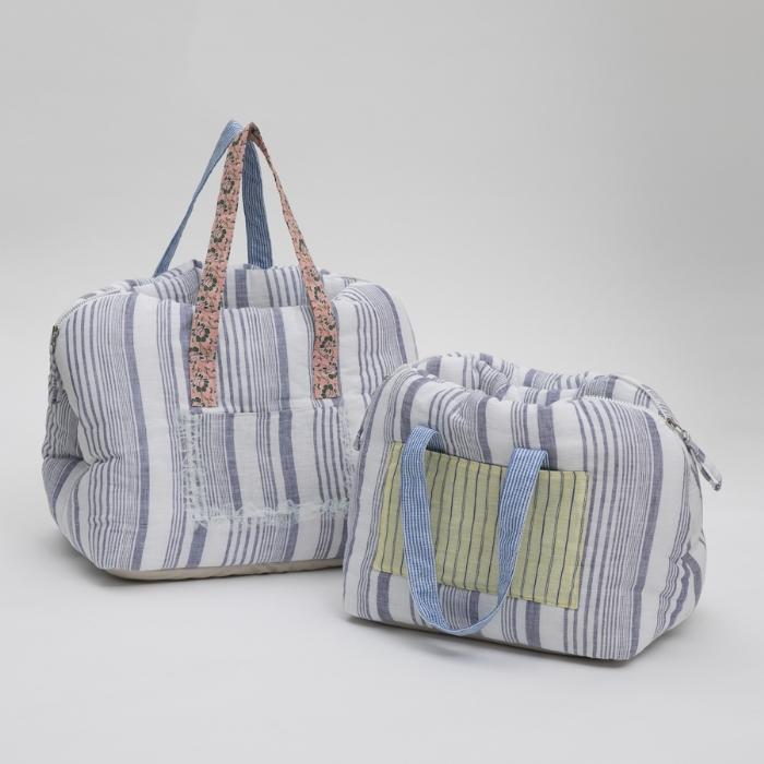 ルイスドッグ louisdog Linenaround Bag/Glitter(Grand)【小型犬 犬用 ペット キャリーバッグ セレブ】