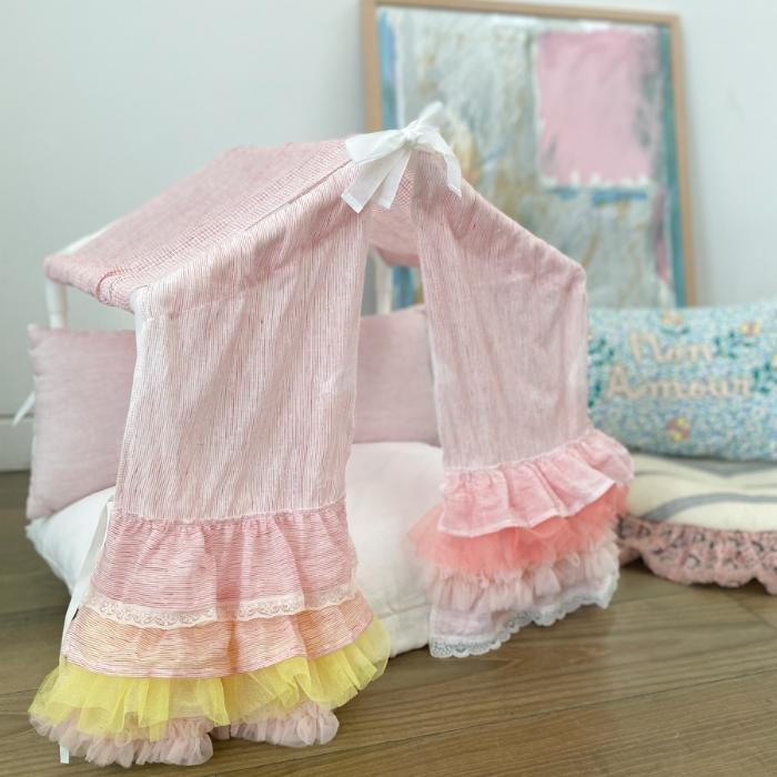 ルイスドッグ louisdog Peekaboo Couture/Tropea(Petit)【小型犬 ベッド ソファ カドラー ハウス セレブ】