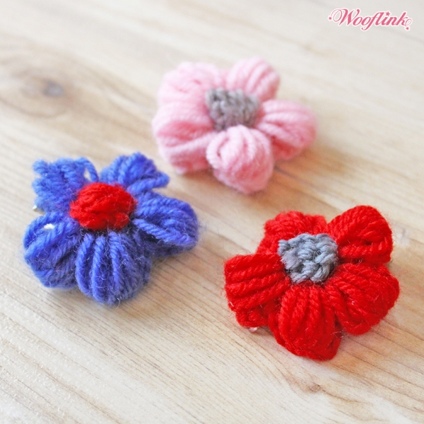 2017 COLLECTION 4 ウーフリンク WOOFLINK FLOWER GIRL HAIRCLIP【小型犬 アクセサリー リボン ヘアーアクセサリー/セレブ】