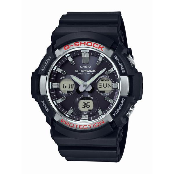 G-SHOCK ジーショック CASIO カシオ MULTIBAND6 電波ソーラー 【国内正規品】 腕時計 GAW-100-1AJF 【送料無料】