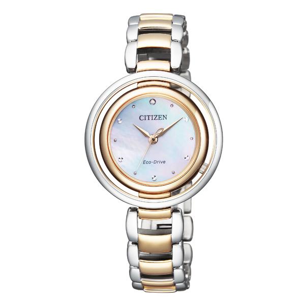 CITIZEN L シチズン エル エコ・ドライブ アークリーシリーズ 腕時計 EM0666-97D 【送料無料】