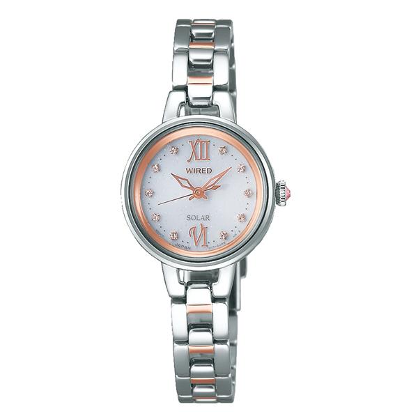WIRED f ワイアード エフ SEIKO セイコー ソーラー 【国内正規品】 腕時計 レディース AGED091 【送料無料】
