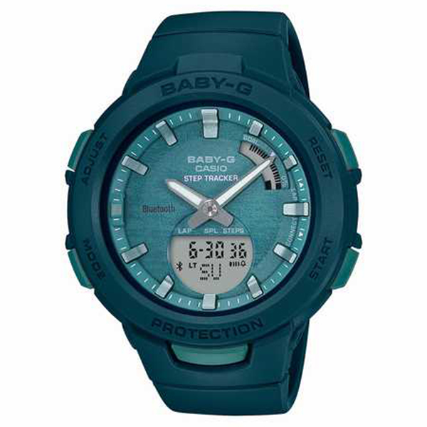 BABY-G カシオ ベビーG  ジー・スクワッド スマホリンク 腕時計 レディス G-SQUAD SMARTPHONE LINK BSA-B100AC-3AJF