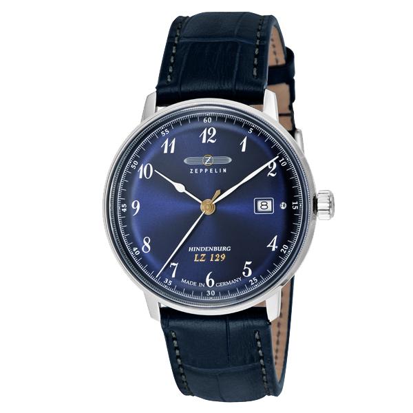 ZEPPELIN ツェッペリン Hindenburg ヒンデンブルグ ドイツ製 腕時計 メンズ 7046-3 【送料無料】