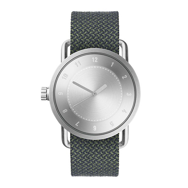 TID Watches ティッド ウォッチ No.1 トウェインベルト シルバー 40mm 【国内正規品】 腕時計 TID01-TW SV/PINE 【送料無料】