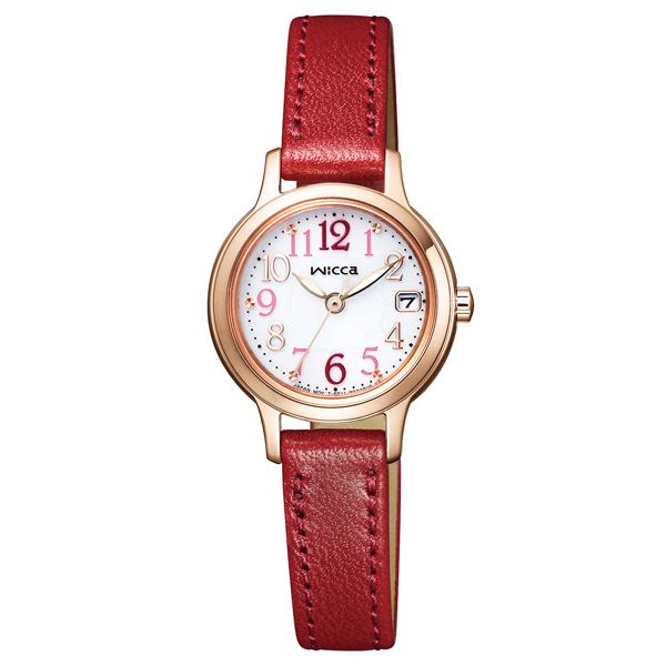wicca ウィッカ ソーラーテック デイト 【国内正規品】 腕時計 レディース KH4-963-10 【送料無料】
