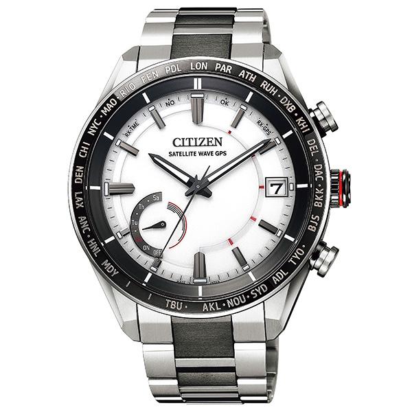 CITIZEN シチズン ATTESA アテッサ エコ・ドライブGPS衛星電波時計 F150 ダイレクトフライト ACT Line  腕時計 メンズ CC3085-51A
