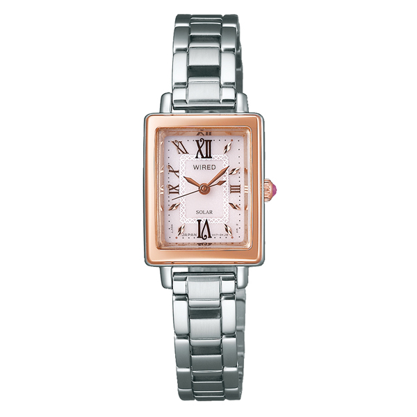 WIRED f ワイアード エフ SEIKO セイコー ソーラー 国内正規品 腕時計 レディース AGED100 【送料無料】