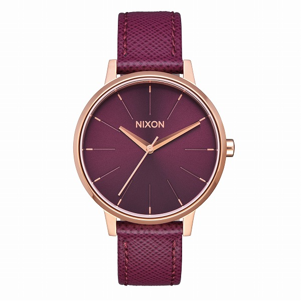 NIXON ニクソン Kensington Leather ケンジントン The LUX LIFE 【国内正規品】 腕時計 NIX-NA1082479 【送料無料】