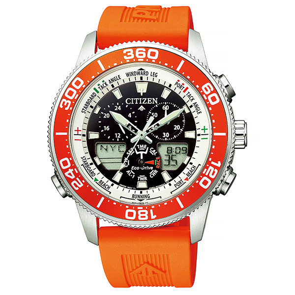 シチズン プロマスター マリン CITIZEN PROMASTER エコドライブ ヨットタイマー MARINE 腕時計 メンズ JR4061-18E