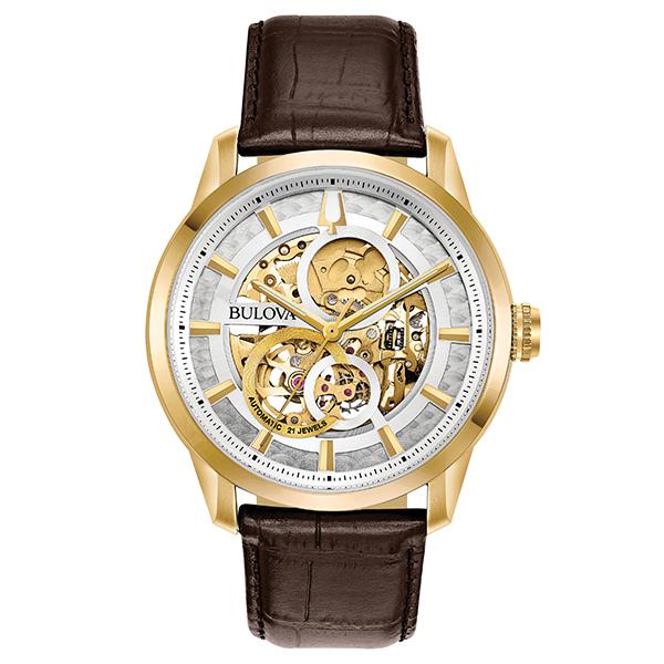 BULOVA ブローバ 腕時計 メンズ 自動巻 メカニカル クラシック CLASSIC 97A138