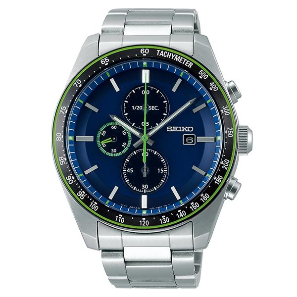 SEIKO SELECTION セイコーセレクション アスレジャー ソーラー クロノ 腕時計 メンズ  SBPY145