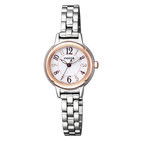wicca ウィッカ CITIZEN シチズン ソーラーテック スタンダードモデル 腕時計 KP3-619-11 【送料無料】