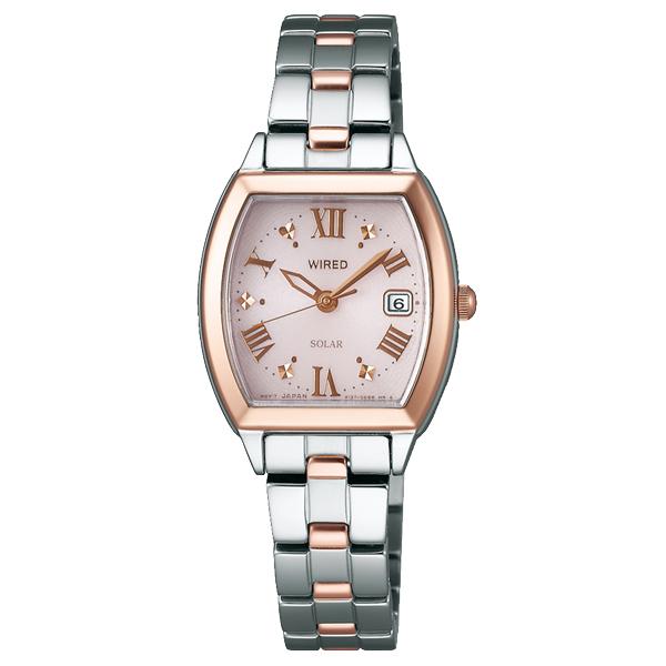 WIRED f ワイアード エフ SEIKO セイコー ソーラー 腕時計 レディース AGED076 【送料無料】
