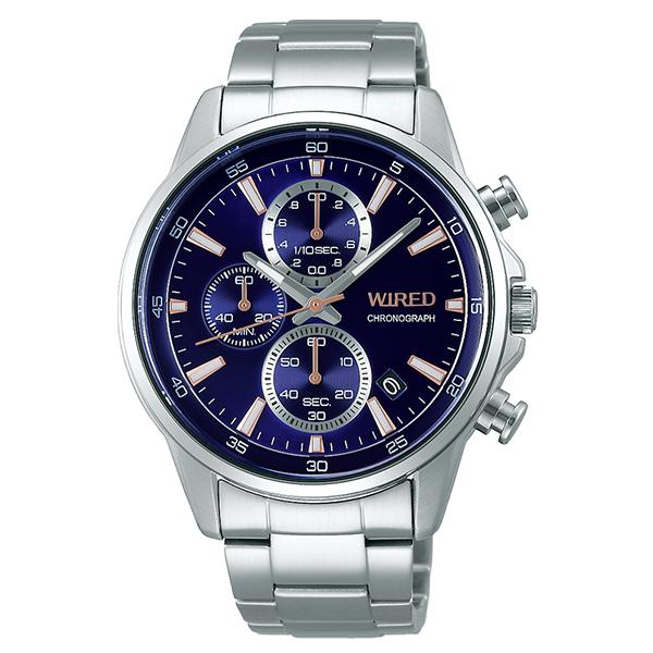 WIRED ワイアード SEIKO セイコー クロノグラフ TiCTAC別注 腕時計 メンズ AGAT732