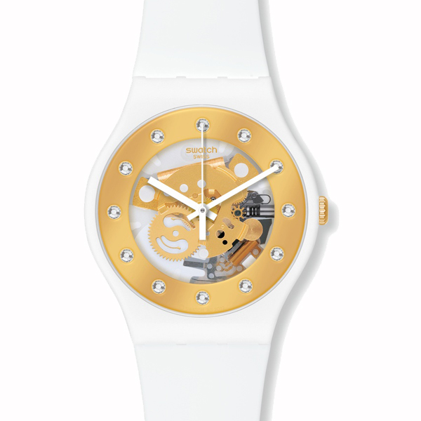 SWATCH スウォッチ LACQUERED ラッカード SUNRAY GLAM サンレイ グラム 腕時計 【国内正規品】 SUOZ148 【送料無料】