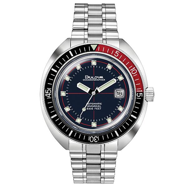 BULOVA ブローバ 腕時計 メンズ アーカイブシリーズ  自動巻 メカニカル オーシャノグラファー デビルダイバー 98B320