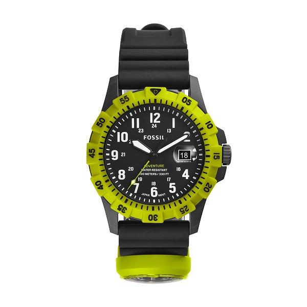 FOSSIL フォッシル FB-ADVENTURE FBアドベンチャー 復刻モデル FS5732 シリコン 42mm 腕時計 メンズ