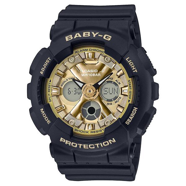 BABY-G カシオ ベイビージー 腕時計 レディス アナデジ BA-130-1A3JF