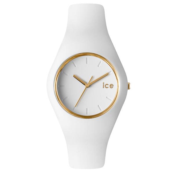 ICE WATCH アイスウォッチ ICE GLAM アイスグラム 腕時計 【国内正規品】 ユニセックス ホワイト ICE.GL.WE.U.S 【送料無料】