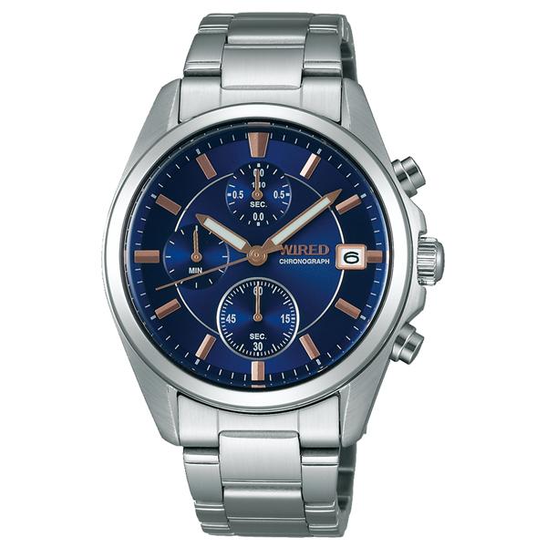 WIRED ワイアード SEIKO セイコー トリオ クロノ ペア 【国内正規品】 腕時計 メンズ AGAT412 【送料無料】