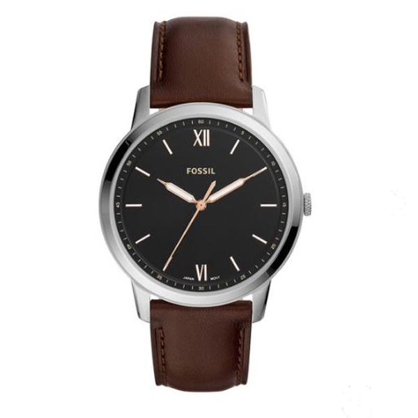 FOSSIL フォッシル THE MINIMALIST 3H ミニマリスト 【国内正規品】 腕時計 メンズ FS5464 【送料無料】