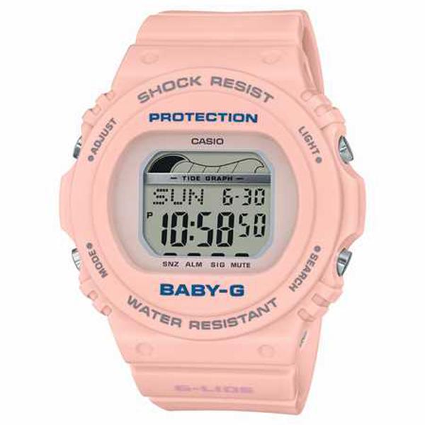 BABY-G カシオ ベビーG G-LIDEジーライド 腕時計 レディス タイドグラフ BLX-570-4JF