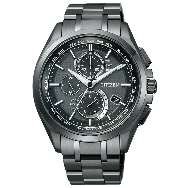 CITIZEN シチズン ATTESA アテッサ エコ・ドライブ ダイレクトフライト Black Titanium  国内正規品 腕時計 メンズ AT8044-56E 【送料無料】